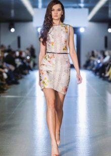 Вечернее платье от Оксаны Мухи кружевное короткое
