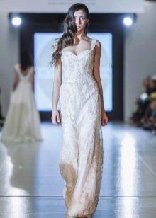 Вечернее платье прямое из коллекции Privee 2016