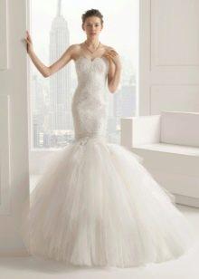 Свадебное платье 2015 от Роза Клара русалка