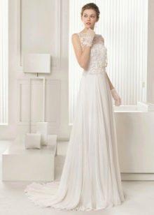 Свадебное платье 2015 от Роза Клара с кружевным верхом