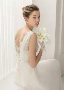 Свадебное платье с кружевной открытой спиной 2015 от Роза Клара