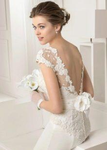 Свадебное платье с открытой спиной 2015 от Роза Клара