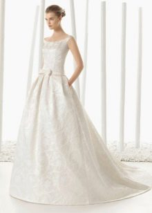 Пышное свадебное платье от Розы Клары 2016