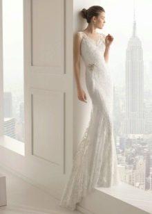 Кружевное свадебное платье от Роза Клара