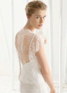 Свадебное платье 2016 с открытой спиной