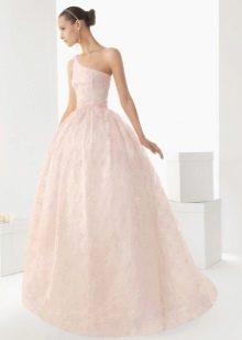 Свадебное платье от Роза Клара 2013 розовое