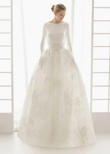 Свадебное платье 2016 закрытое пышное