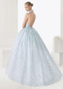 Свадебное платье от Роза Клара 2013 голубое