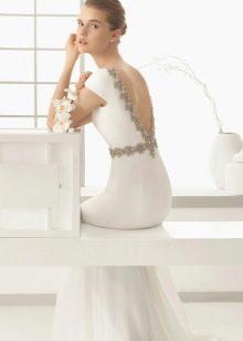 Свадебное платье 2016 с вырезом на спине