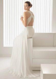 Свадебное платье от Роза Клара с бретелями