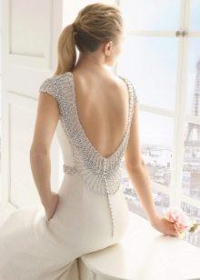 свадебное платье с вырезом на спине Two by Rosa Clara 2016
