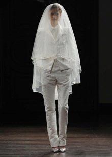 Свадебный костюм от Naeem Khan