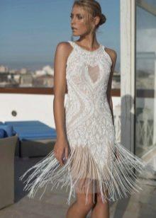 Короткое свадебное платье 2016