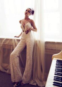 Свадебный комбинезон от Nurit Hen