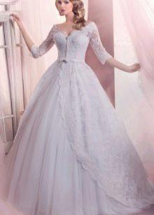 Свадебное платье пышное из коллекции Энигма от Габбиано