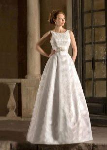 Свадебное платье а- силуэтаиз коллекции Римские каникулы от Габбиано