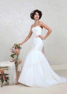 Свадебное платье русалка из коллекции Цветочная феерия