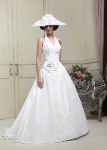 Свадебное платье с американской проймой из коллекции Цветочная феерия