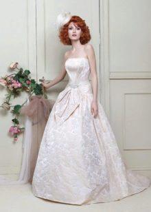 Свадебное платье пышное из коллекции Цветочная феерия