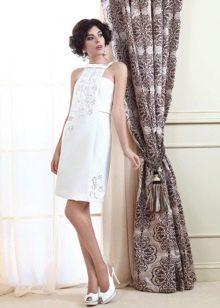 Свадебное платье из коллекции Цветочная феерия короткое