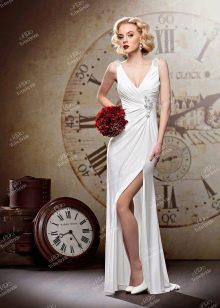 Свадебное платье из Bridal Collection 2014 с разрезом
