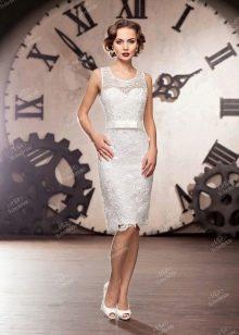 Свадебное платье из Bridal Collection 2014 короткое кружевное