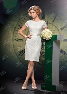 Свадебное платье из Bridal Collection 2014 короткое футляр
