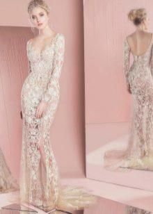 Свадебное платье кружевное 2016 от Zuhair Murad