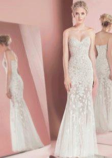 Свадебное прямое платье от Зухаира Мурада