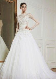 Свадебное платье на бретелях 2013 от Зухаира Мурада