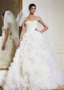 Свадебное платье из коллекции 2013 пышное