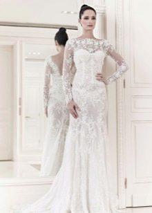 Свадебное платье из коллекции 2014 русалка