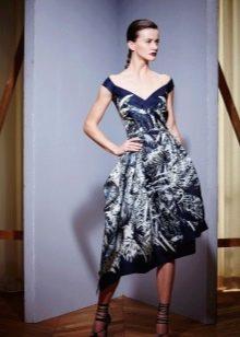 Вечернее платье от Зухаира Мурада с принтом 2016