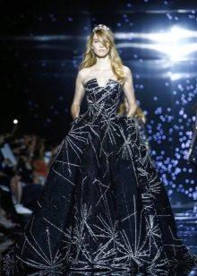 пышное вечернее платье от Зухаира Мурада