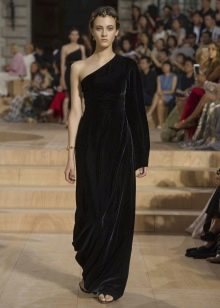 Вечернее платье бархатное 2016