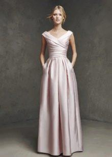 Вечернее платье с карманами