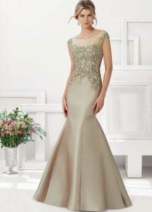 Вечернее платье русалка для женщин 40 лет