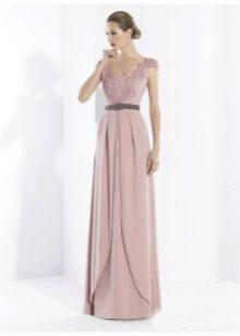 Вечернее платье для женщин 40 лет лилового цвета