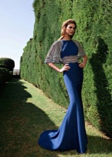 Русалка вечернее платье от Тарик Эдиз