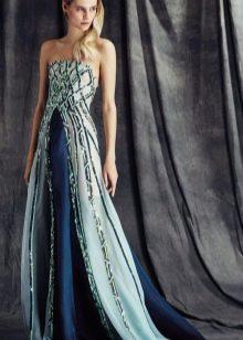 вечернее платье для нового года 2016 а-силуэта
