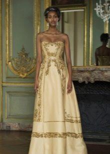 Выпускное платье в этно стиле 2016