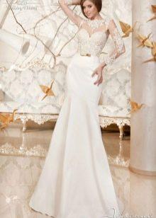 Свадебное платье кружевное из коллекции Дыхание весны