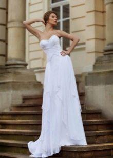 Свадебное платье с драпировкой из коллекции Оскар