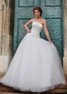 Свадебное платье а-силуэта из коллекции Оскар