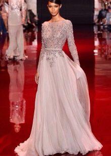 Вечернее платье от Эли Сааба