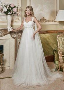 Свадебное платье ампир от Евы Уткиной