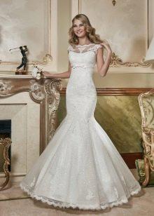 Свадебное платье русалка из коллекции Сияние нежности от Евы Уткиной
