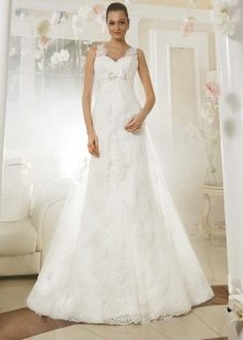 Свадебное платье из коллекции Просто любовь от Евы Уткиной а-силуэта