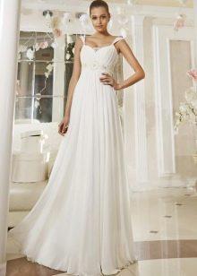 Свадебное платье из коллекции Просто любовь от Евы Уткиной в стиле ампир