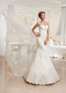Свадебное платье русалка от Евы Уткиной